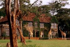 Отель The Giraffe Manor. Найроби, Кения