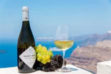Tasting of wines of south Greece and Santorini