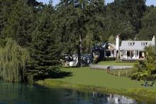 Huka Lodge, Таупо, Новая Зеландия