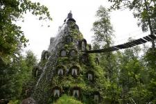 Готель Magic Mountain Lodge. Патагонія, Чилі