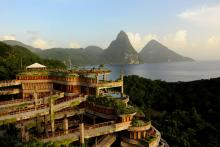 Jade Mountain, Суфриер, Сент-Люсия